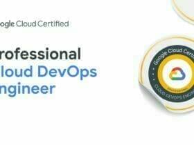Google Cloud Certified - Professional Cloud DevOps Engineer 認定資格バッジ