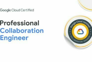 Google Cloud Certified - Professional Collaboration Engineer 認定資格バッジ