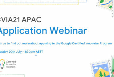 [Google for Education] VIA21 APAC Application Webinar