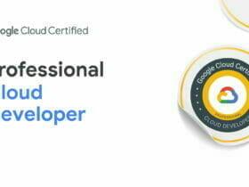 Google Cloud Certified - Professional Cloud Developer 認定資格バッジ