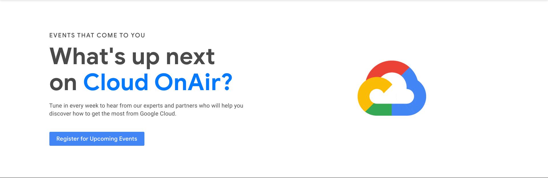 Google Cloud OnAir Global