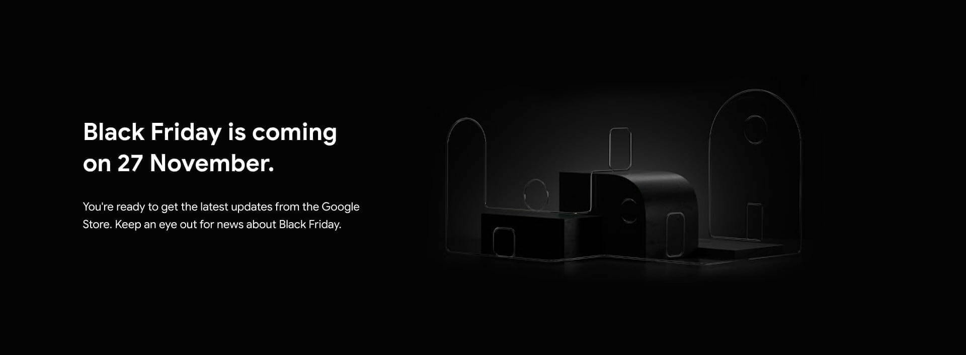 Black Friday is coming on 27 November in Singapore