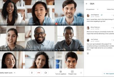 Google Meet:Q&A