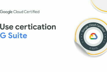 Google Cloud Certified - Use cericition G Suite 認定資格バッジ