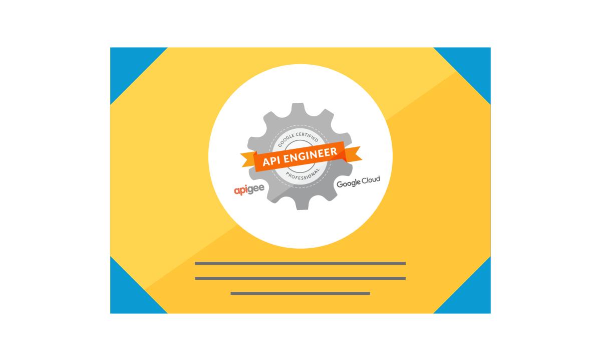 Apigee Certified API Engineer 認定資格 デモ バッジ