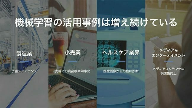 はじめてみよう Google Cloud Platform Online Handson:機械学習サービスを利用した事例の紹介