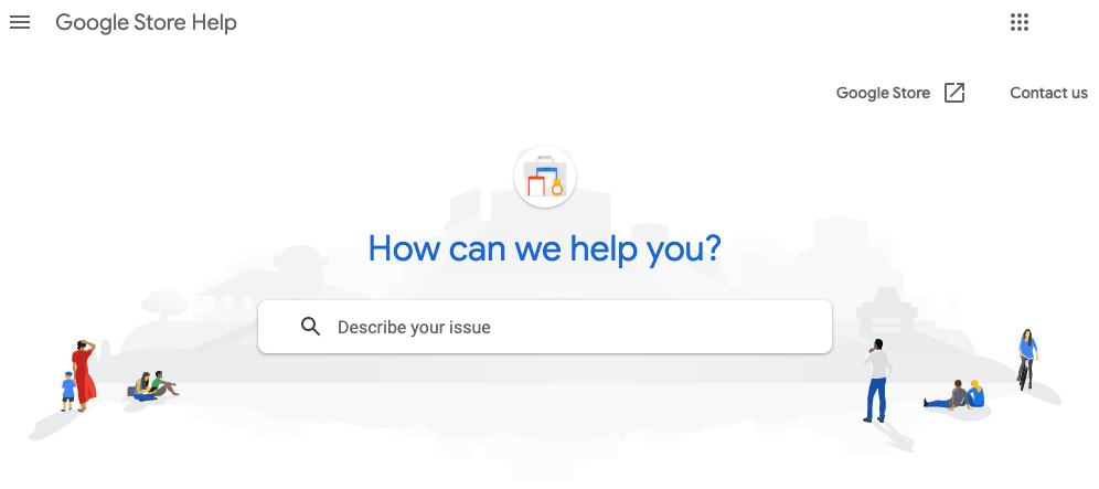 Google Store Help