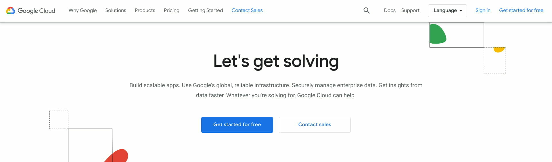 Google Cloud 公式