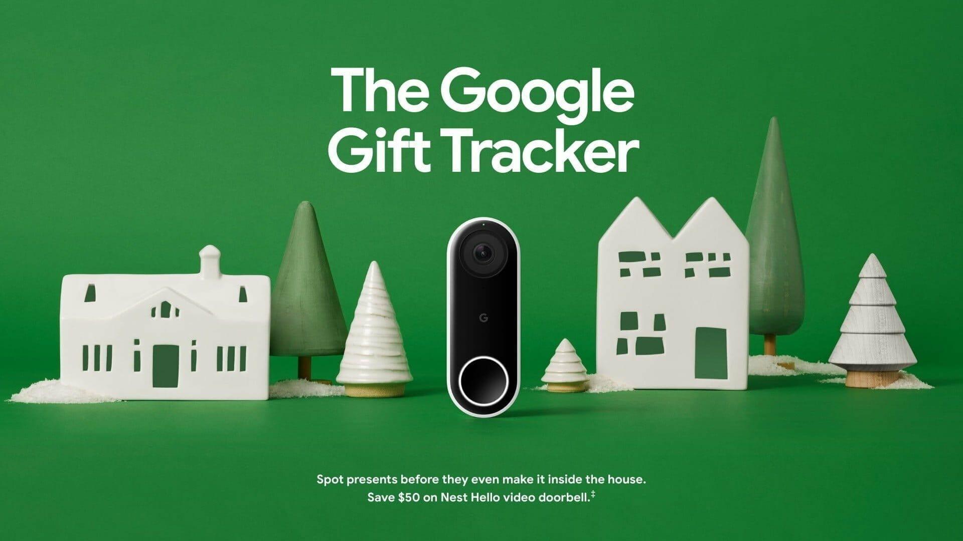 Google ホリデー デザイン:スマート ドアベル「Google Nest Hello」