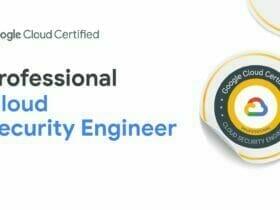 Google Cloud Certified - Professional Security Engineer 認定資格バッジ