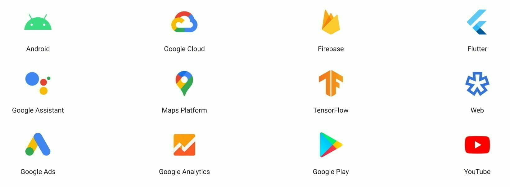 Build anything with Google