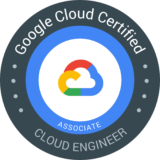 Associate Cloud Engineer 認定資格 バッジ