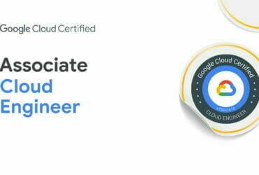 Google Cloud Certified - Associate Cloud Engineer 認定資格バッジ