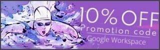 [紹介バナー] Google Workspace 10%OFF プロモーションのご案内