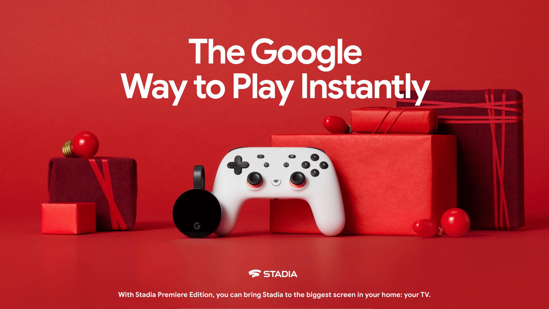 Google ホリデー デザイン:クラウド ゲーム「Google Stadia」