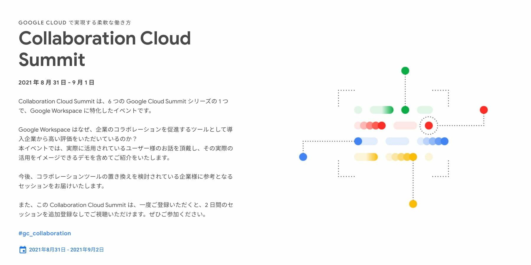 [GCP] Collaboration Cloud Summit