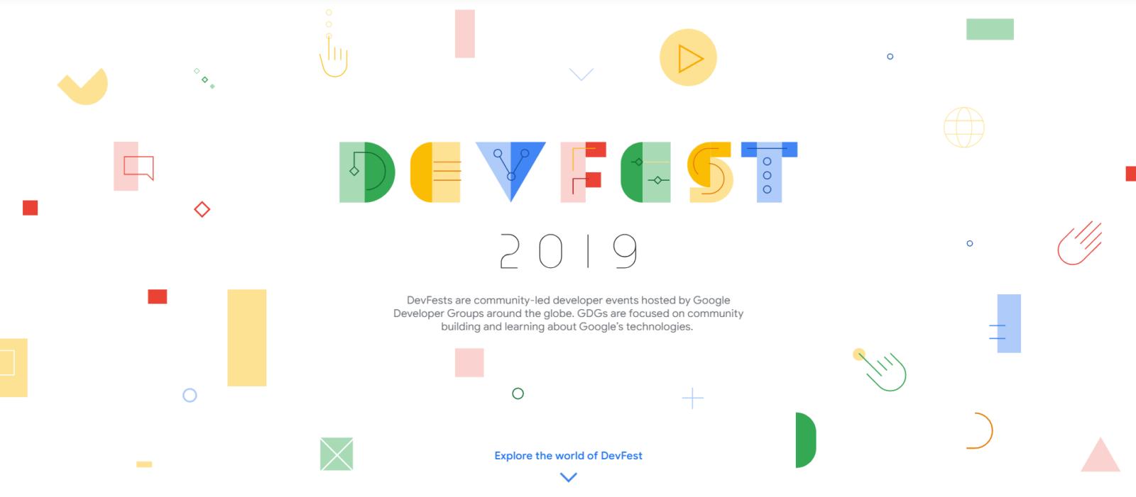 DevFest2019 のカバー画像