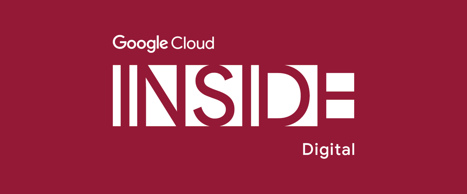 [GCP] Google Cloud Inside Digital Logo