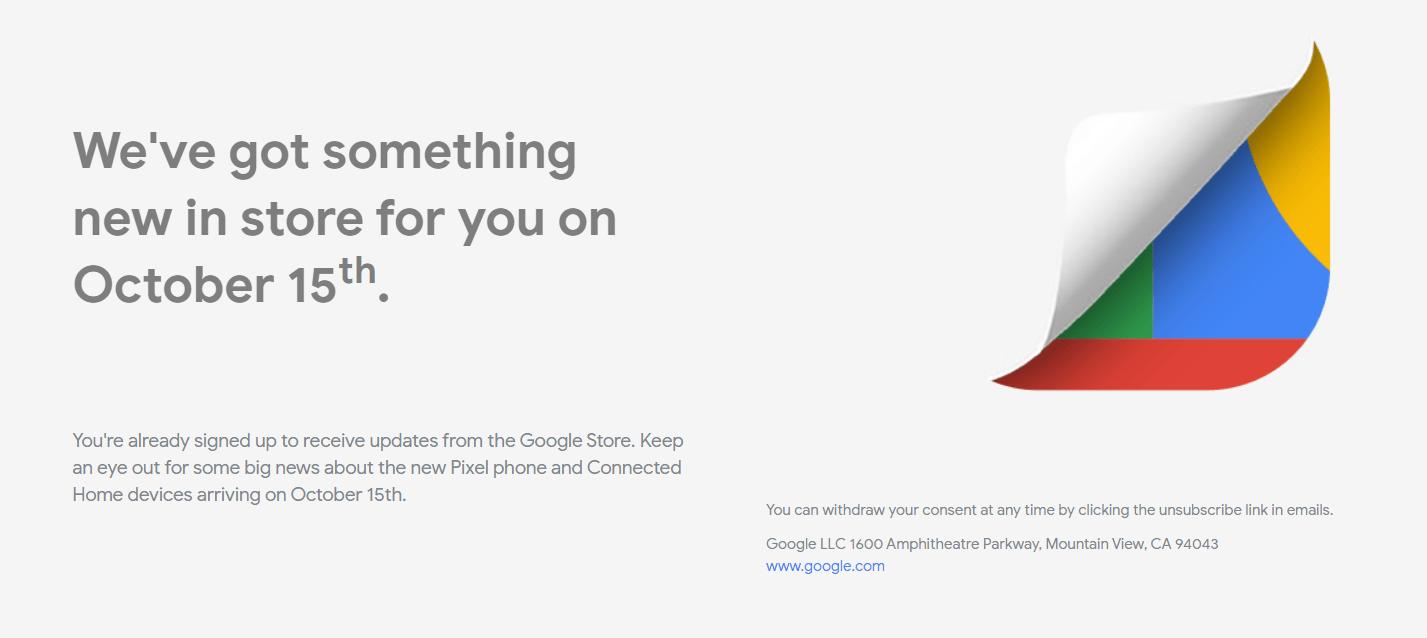 Google 米国ストアで2019年のGoogle製品 予告