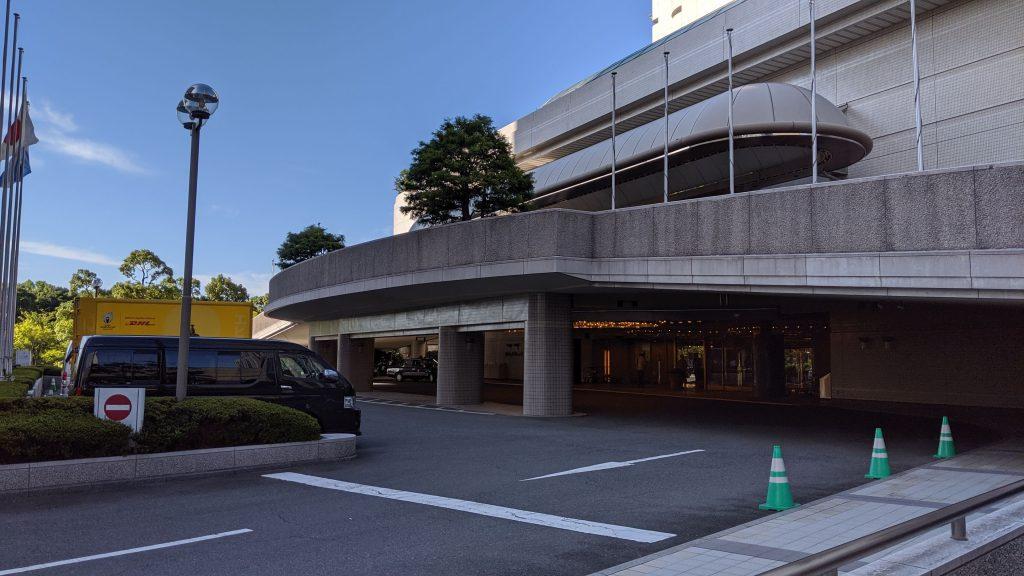 ホテルニューオータニ大阪:外観