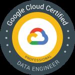Professional Data Engineer 認定資格 バッジ