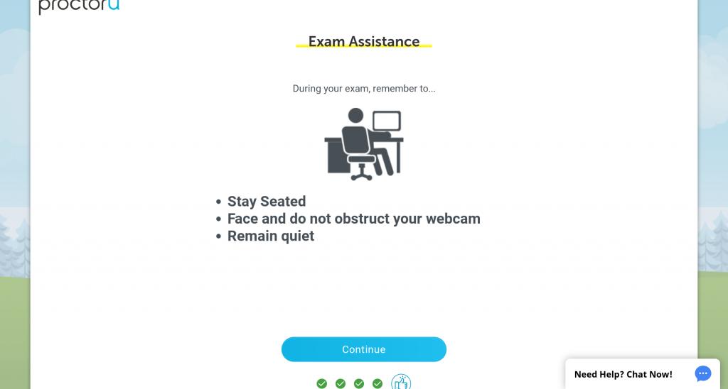 Proctor U: Exam Assistance
