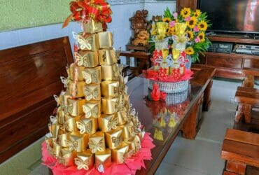 ベトナム結婚式:お供え物