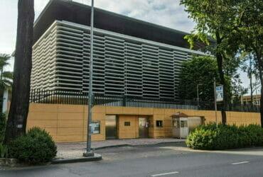 在ホーチミン日本国総領事館:外観