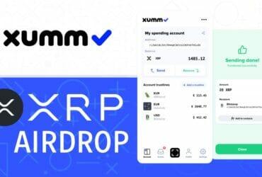 XUMM ウォレットで XRP エアードロップに参加する方法