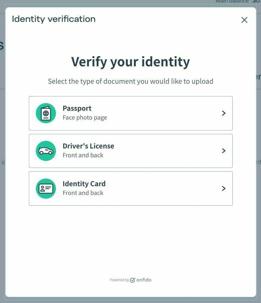 AirTM:アカウントの認証方法